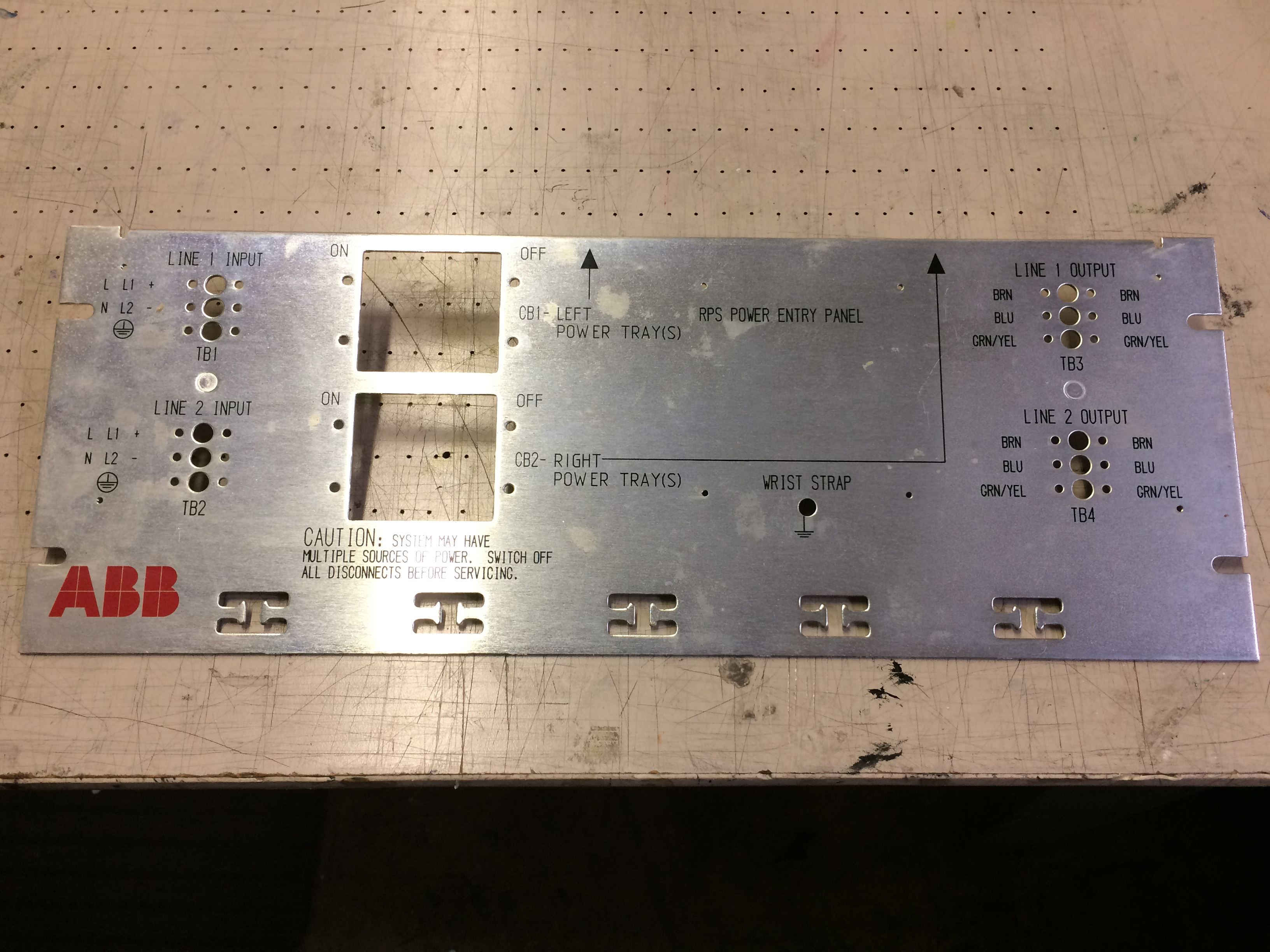 precision screen printed electronic control panels